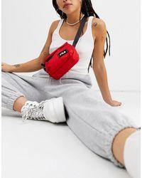 Fila Kerr Cross Body Logo Camera Bag - Red