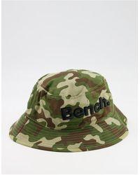 Bench Large Logo Bucket Hat - Green