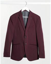 Jack & Jones - Бордовый Пиджак Premium-красный - Lyst