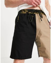 Carhartt WIP Valiant - Short en tissu indéchirable - Camouflage multicolore