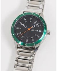 Lacoste - Наручные Часы -серебряный - Lyst