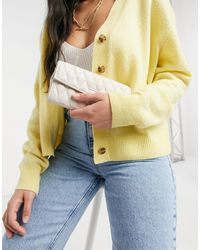 Karen Millen Dixie Quilted Purse - Multicolour
