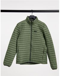 Helly Hansen Зеленая Утепленная Куртка Sirdal-зеленый