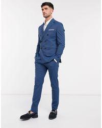 SELECTED Pantalon - Bleu