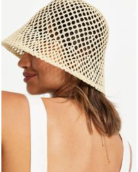 & Other Stories Straw Bucket Hat - Multicolour