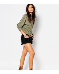 Northmore Denim - Shorts With Rips And Distressing - Lyst