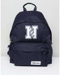 Eastpak - X New Era Padded Pak R Backpack - Lyst