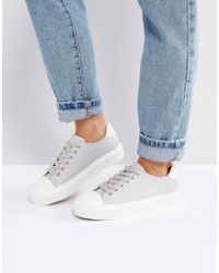 Blink | Toecap White Trainers | Lyst