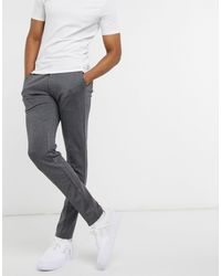 Jack & Jones Intelligence Slim Fit Jersey Pants - Grey