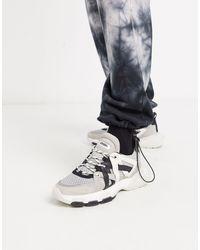 Bronx Seventy Street - Sneakers nere e bianche multi - Multicolore