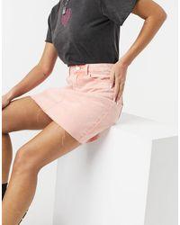 Vila Denim Skirt - Pink