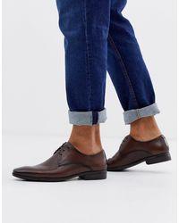 Office - Коричневые Кожаные Туфли Дерби -коричневый - Lyst