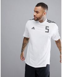 adidas - Football Tanip Icon T-shirt In White Cg1801 - Lyst