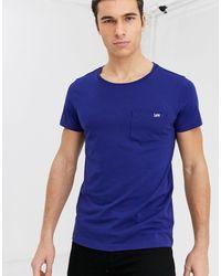 Lee Jeans Jeans - T-shirt avec poche - Bleu