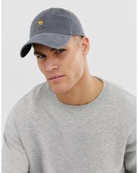 Abercrombie & Fitch Cappellino grigio con logo