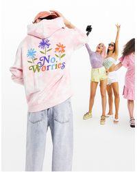 ASOS Oversized Hoodie - Pink