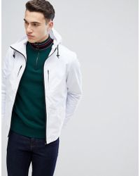 Stradivarius - Hooded Jacket In White - Lyst