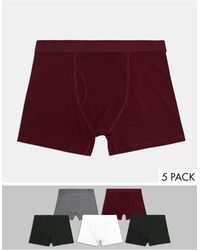 Weekday Johnny 5 Pack Boxer Set - Multicolor