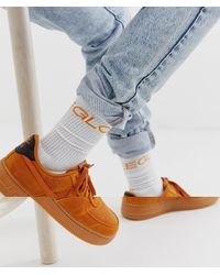 ASOS Chaussettes de sport imprimées - Blanc