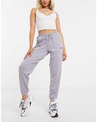 adidas Originals Джоггеры Лавандового Цвета С Манжетами Ryv-фиолетовый - Серый