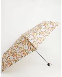 Monki Зонт Из Переработанного Материала С Цветочным Принтом -многоцветный