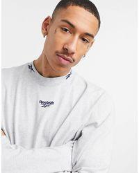 Reebok Classics Co-ord Long Sleeve T-shirt - Grey