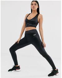 ASOS 4505 High Waisted legging - Black