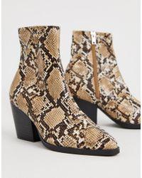0847956d03d Charlie Snake Western Boots - Natural