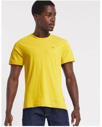 Napapijri Selios - T-shirt gialla - Giallo