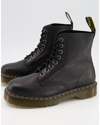 Dr. Martens - Черные Ботинки С Восемью Парами Люверсов 1460 Pascal Bex-черный Цвет - Lyst