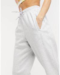 adidas Originals Серые Oversized-джоггеры С Манжетами Adidas-серый