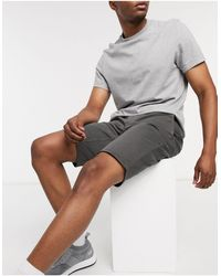 BOSS by Hugo Boss Schino - Short stretch coupe slim double teinte - Gris