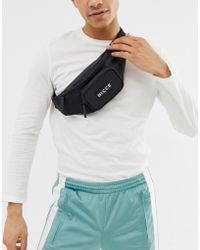 Nicce London Bumbag In Black With Small Logo