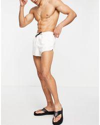 ASOS Runner Swim Shorts - White