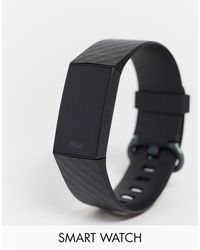 Fitbit Charge 4 Smart Watch - Black