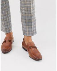 Burton Светло-коричневые Кожаные Лоферы -светло-коричневый