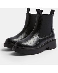 TOPSHOP - Chelsea Boots - Lyst