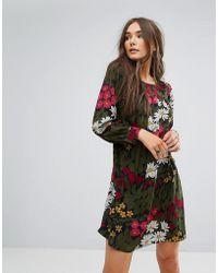 Traffic People - Floral Swing Dress - Lyst