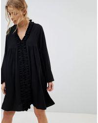 Pimkie - Black Slouchy Boho Dress - Lyst