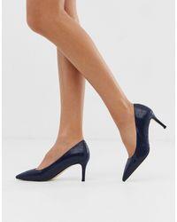 Carvela Kurt Geiger Chaussures à talons vernies avec bout pointu - Bleu