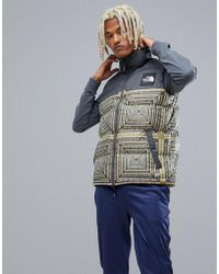 The North Face - 1992 Nuptse Tank In Lcd Print - Lyst
