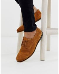 Jack & Jones Suede Derby Shoes - Brown