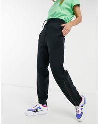 Nike Tech Fleece Oversized High Waisted joggers - Black