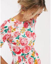 ASOS wiggle Mini Dress - Pink