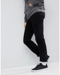 Levi's - Levi's Line 8 Slim Jeans Black - Lyst
