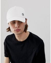 DIESEL Cappellino con moicano bianco