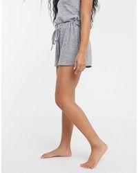 UNIQUE21 Unique 21 Loungewear Jersey Shorts-grey