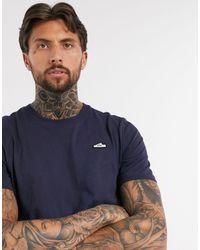 adidas Originals Темно-синяя Футболка С Вышитым Логотипом -темно-синий