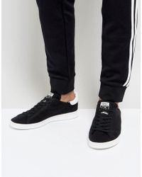 adidas Originals - Stan Smith Trainers In Black Bz0118 - Lyst