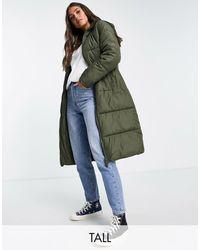 New Look Padded Coat - Green